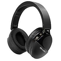 Beexcellent Bluetooth ヘッドホン 無線/有線 40H再生/30H通話 HiFi ...