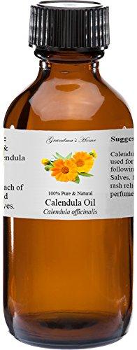 Calendula (Marigold) Essential Oil - 2 fl oz -100% Pure and Natural - Therapeutic Grade - Grandma's Home