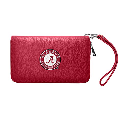 NCAA Alabama Crimson Tide Zip Organizer Pebble Wallet
