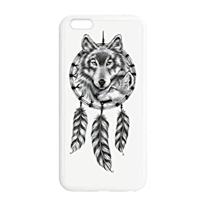 super shining day Discount Wolf Dream Catcher TPU Material Snap on Case Cover for iPhone 6 Plus 5.5