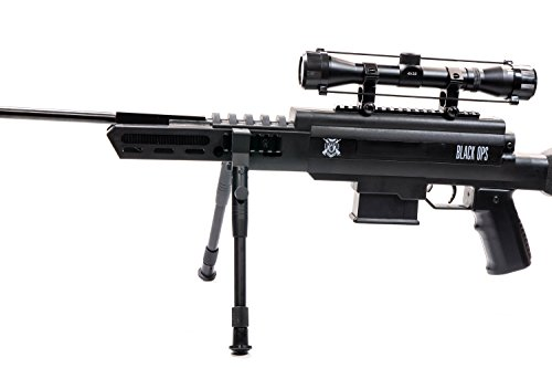Black Ops Power/Gas Piston Sniper Air Rifle .177 Ammo Scope Included