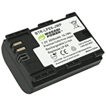 Wasabi Power Battery for Canon LP-E6, LP-E6N and Canon EOS 5D Mark II, EOS 5D Mark III, EOS 5DS, EOS 5DS R, EOS 6D, EOS 7D, EOS 7D Mark II, EOS 60D, EOS 60Da, EOS 70D
