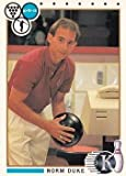 Norm Duke trading card (Bowling Legend) 1990 Kingpins #13