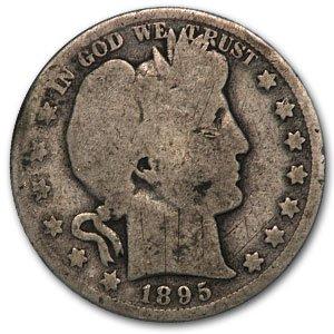 1895 O Barber Half Dollar AG Half Dollar About Good