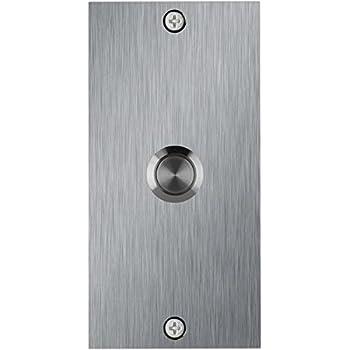 Waterwood Medium Rectangle Stainless Steel Doorbell