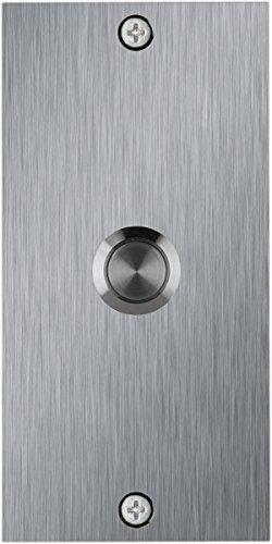 Waterwood Medium Rectangle Stainless Steel Doorbell by Waterwood