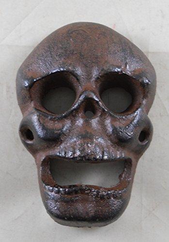 Cast Iron Wall Mounted Skull Bottle Opener