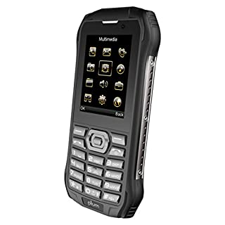 Plum Rugged Unlocked Cell Phone 4G GSM - IP68 Military Grade Water Shock Proof Dual Sim Global Ready, Black (E700blk)