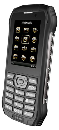 - Plum Ram 7 - 3G Rugged Unlocked Cell Phone GSM - IP68 Certified Military Grade Water Shock Proof Dual Sim Global Ready