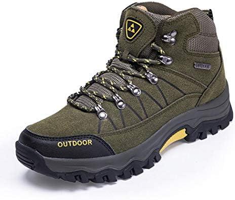 登山靴 BEUWAYS トレッキングシューズ メンズ ハイカット ハイキングシューズ 厚い底 暖かい 防滑 衝撃吸収 登山靴 ハイシューズ 耐摩耗性 アウトドア スエード ハイシューズ ウォーキングシューズ