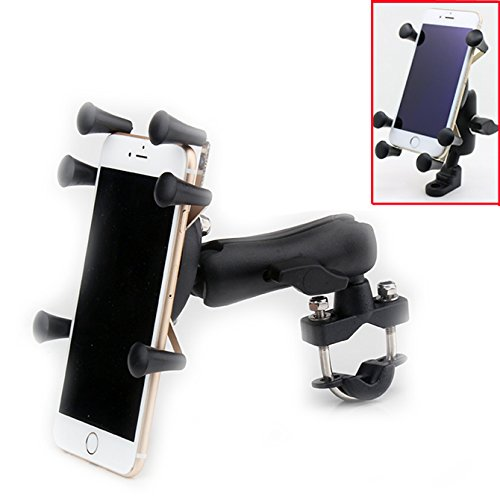 Gravity RAM Motorcycle Handle Bar Clamp Mount for Samsung Galaxy Others