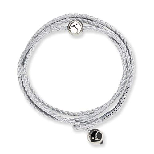 - Lokai Metals Collection Triple Wrap Bracelet, Ice/Silver, Large