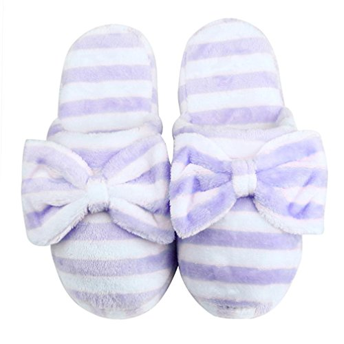 AutumnFall Women's Cozy Cotton House Slippers