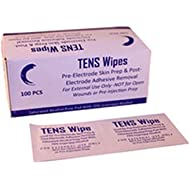 Fid-Med LW7275 Tens Alcohol Skin Prep Wipes,Box of 100