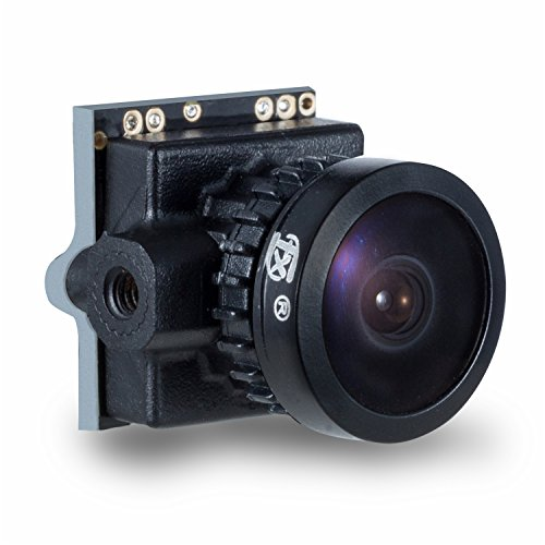 FXT T80 1/3 800TVL PAL/NTSC 16:9/4:3 Mini FPV Camera the smallest OSD camera by TX