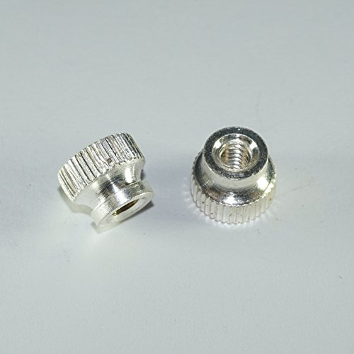 Bach Stradivarius Trumpet First Third Slide Trigger Stop Rod Nut Screw SILVER PLATED Set of 2
