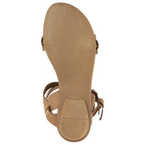 ESPRIT Damen Sandalen Beige - Camel