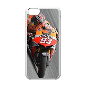 Personalized Durable Cases Ccczx Ipod Touch 6 Cell Phone Case White Marc Marquez Protection Cover