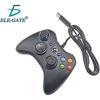 China Control Gamepad Xbox 360 Alambrico USB Pc Windows10 Ele-Gate