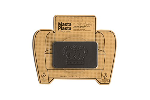 Vinyl Leather Brown Match (MastaPlasta Self-Adhesive Patch for Leather and Vinyl Repair, Crown, Brown - 4 x 2.4 Inch - Multiple Colors Available)