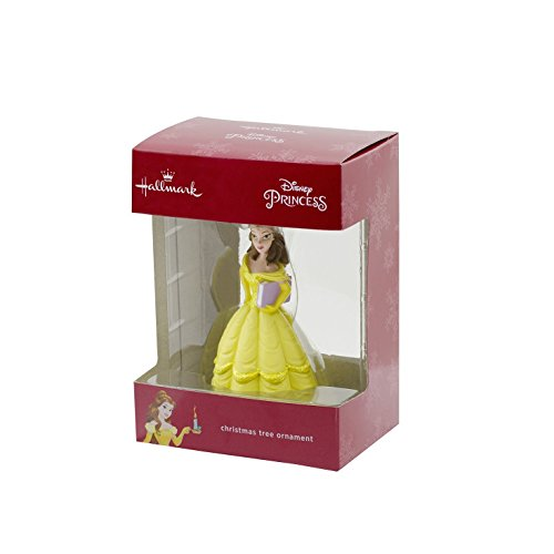 Hallmark Disney Beauty and the Beast Belle Christmas Tree Ornament