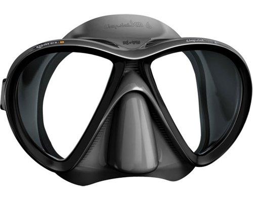 Mares X-VU Liquid Skin Spearfishing Mask, Black Camo