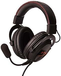 HyperX Cloud - Auriculares de diadema cerrados para gaming (micrófono extraíble, almohadillas de espuma, altavoces 53 mm, compatible móviles/tabletas/Playstation 4), color negro