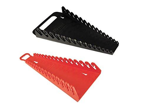 Ernst Mfg 5089 BK + 5188 RD Gripper 15 Wrench Organizer Set - YES 1 Each