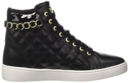 Sneakers Femme Noir Hautes Guess Gerta wY5qaR8px