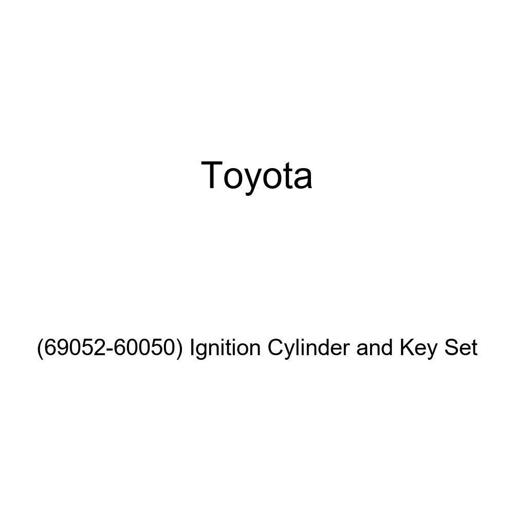 Genuine Toyota Ignition Cylinder and Key Set 69052-60050
