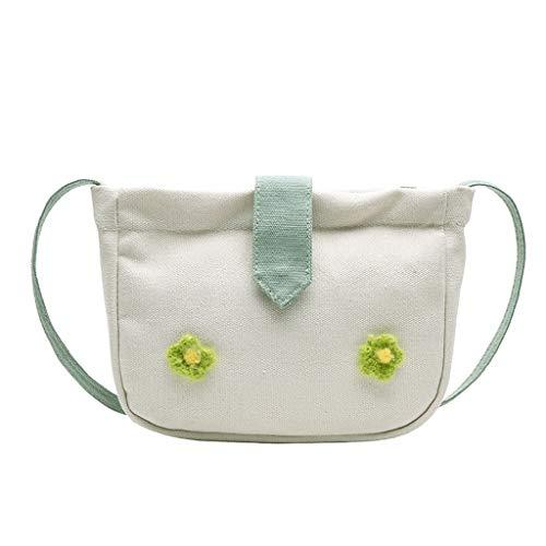 Pengy Women Girl Flower Canvas Handbag Beach Shoulder Bag Tote Shopping Reuseable Ladies Cross Body Bag (Shoulder Elite Infinity Tote)