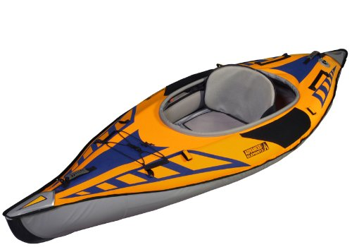 ADVANCED ELEMENTS AdvancedFrame Sport Kayak, Gold/Blue