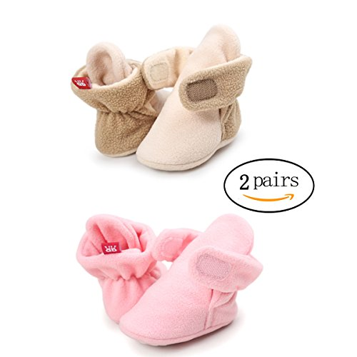 Baby Soft Leather Pram Shoes - 4