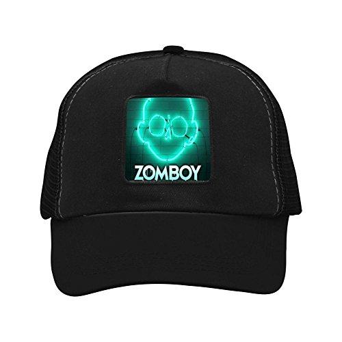 GridCCap Green Light Zomb Unisex Trucker Hat Adjustable Mesh Cap 375fc252bcb