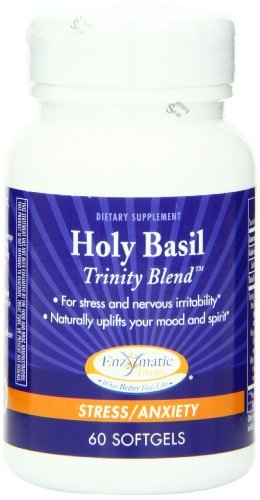 Enzymatic Therapy Holy Basil - Enzymatic Therapy Holy Basil Trinity Blend, 60 Softgels by Enzymatic