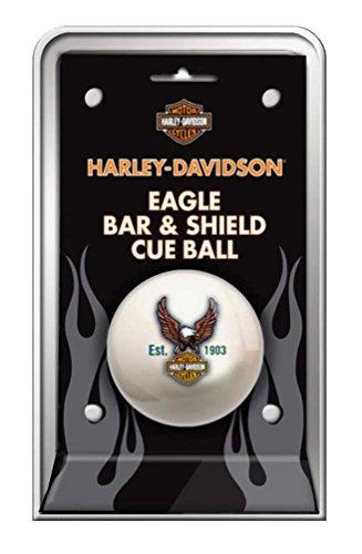 Harley Balls Davidson - Harley-Davidson Bar & Shield Eagle Cue Ball