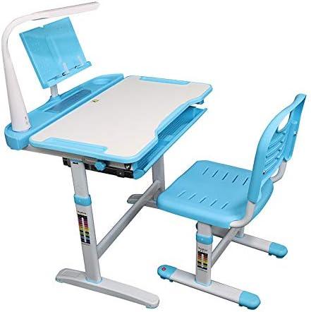 子供は机、多機能の調節可能な高さの子供の机、男の子および女の子の宿題の机および椅子セットを研究します
