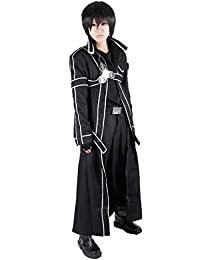 Miccostume Men's Sword Art Online Kirito Cosplay Costume XL