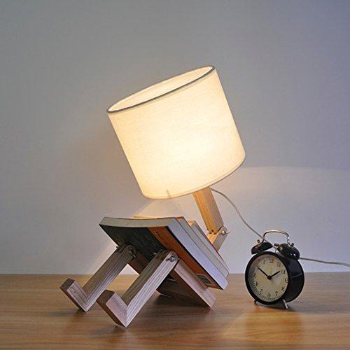 lampe de chevet originale en bois lampe de chevet. Black Bedroom Furniture Sets. Home Design Ideas