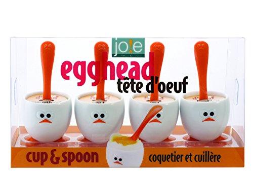 egg spoons plastic - 2