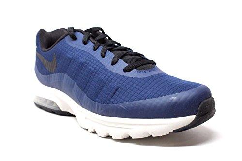 Nike Air Max Invigor SE Midnight Navy Weiß Foto Blau Herren Laufschuhe 870614401 Binäres Blau / Schwarzlicht Knochen-Elektrolime