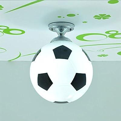 CNMKLM Moda Fútbol sala del muchacho lindo Lámpara de techo ...