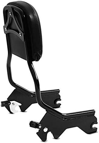 Sissy Bar pour Harley Fat Bob 114 18-20 Craftride R1 Detachable Noir