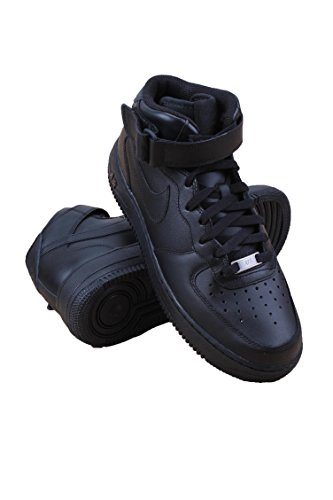 Nike Mens Air Force 1 Mid 07 Basketball - Nike Basketball Sneakers Black
