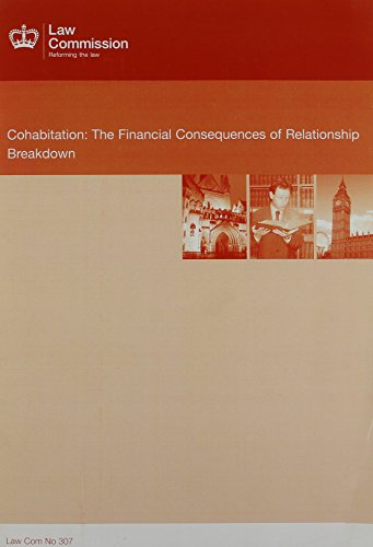 Cohabitation: the financial consequences of relationship breakdown: The Financial Consequences of Relationship Breakdown (Cm.) (Cohabitation The Financial Consequences Of Relationship Breakdown)