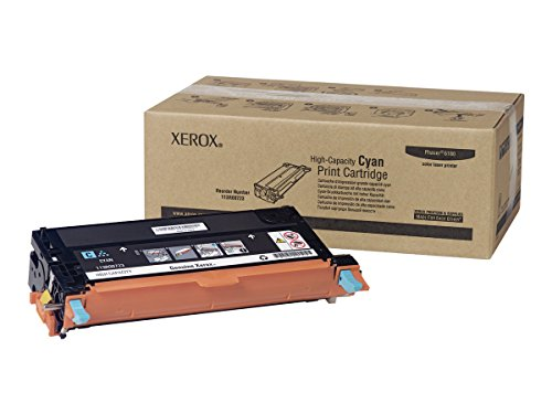 XEROX 113R00723 High Capacity Cyan Toner Cartridge For Phaser 6180