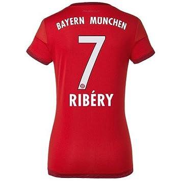 Fc Bayern München Home Trikot Frauen 201516 Ribery Amazonde