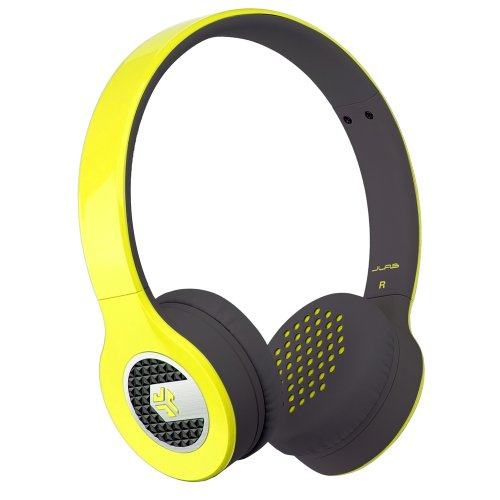 JLab Supra, Sleek Stereo On-Ear Headphones with Cable and Un