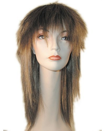 [Tina Orange W Tinsel] (Tina Turner Wigs)