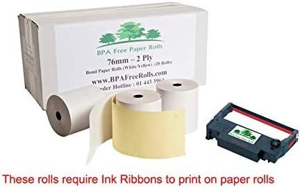 Compatible Epson TM-U220 una/B/C/D/E/F/G 2 rollos de papel ...